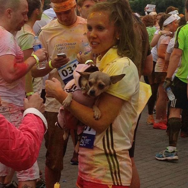 Участница марафона Мария Кравченко