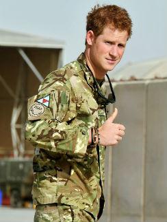Принц Гарри в Афганистане