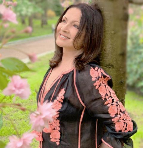 София Ротару в прозрачном платье