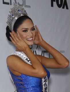 «Мисс Вселенная -2015» Пиа Алонсо Вуртцбах