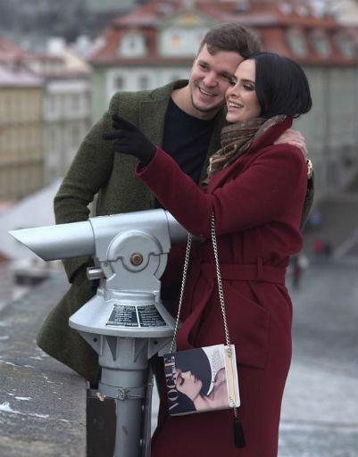 Антон Гусев и Виктория Романец