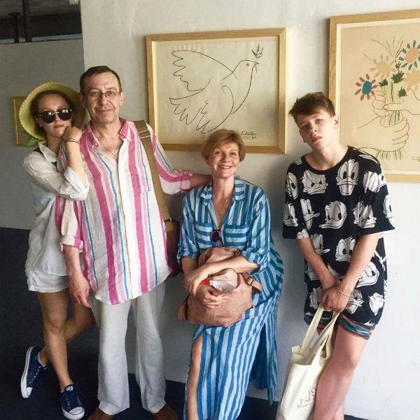 В июле Анна и Александр отдохнули с детьми в Черногории