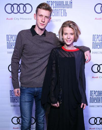 Таисия Румянцева со спутником