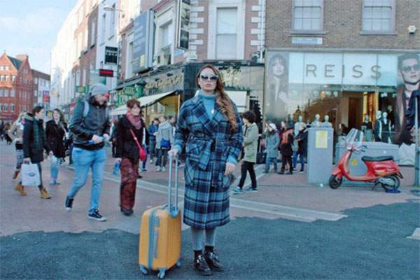 Ляйсан Утяшева путешествует по Ирландии