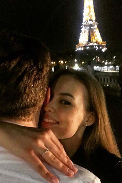 Предложение руки и сердца Максим Третьяк сделал Евгении в Париже