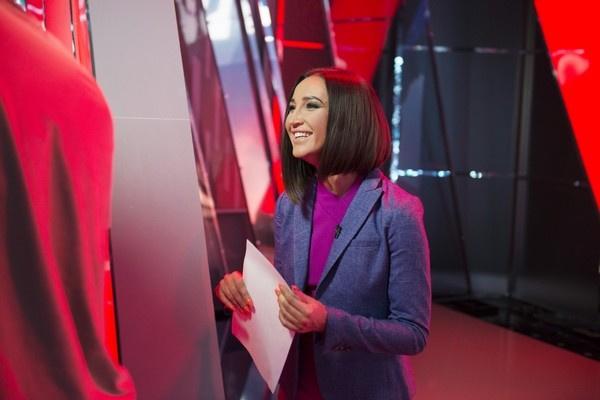 Ольга Бузова на съемках сериала