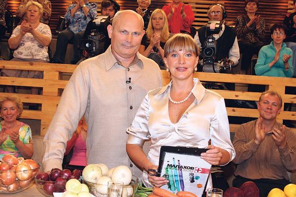 Геннадий Малахов и Елена Проклова вместе вели программу «Малахов+»