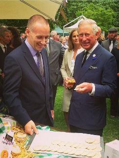 Принц Чарльз отмечает день рождения своего первого проекта
