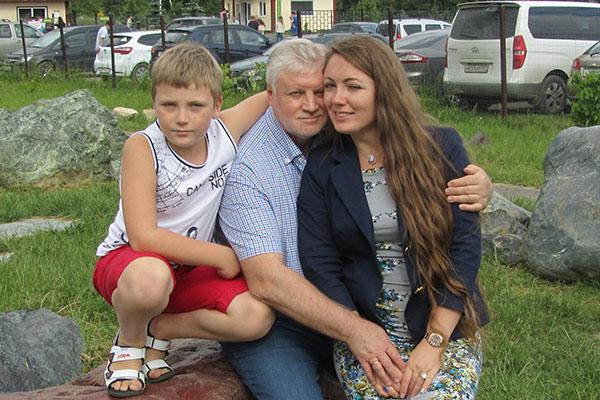 Ольга не рассказывает о жизни с Сергеем, но для «СтарХита» сделала исключение. На фото - с сыном Ваней