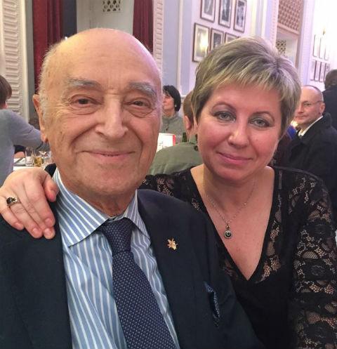 Владимир и Елена Этуш