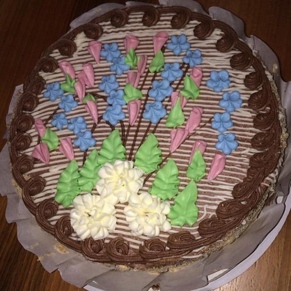 Вот такой киевский торт достался Ксении