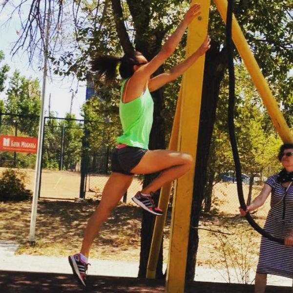 Исинбаева усиленно готовится к Олимпиаде-2016