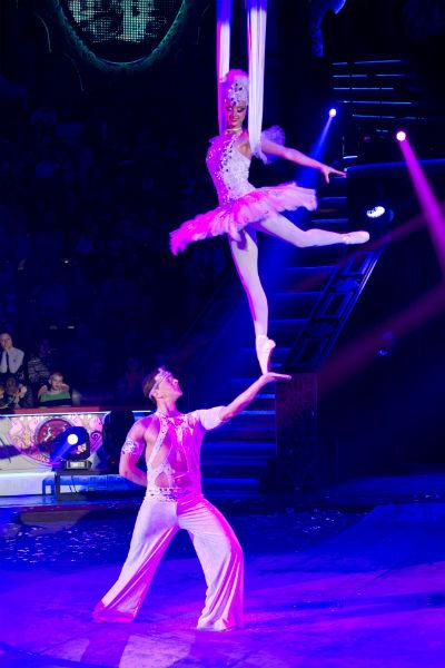 Если бы не цирк, Эрадзе ушел бы в классический балет