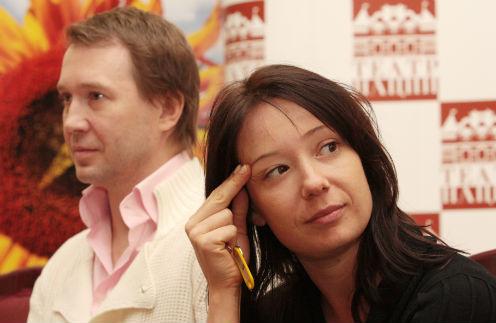 Евгений Миронов и Чулпан Хаматова
