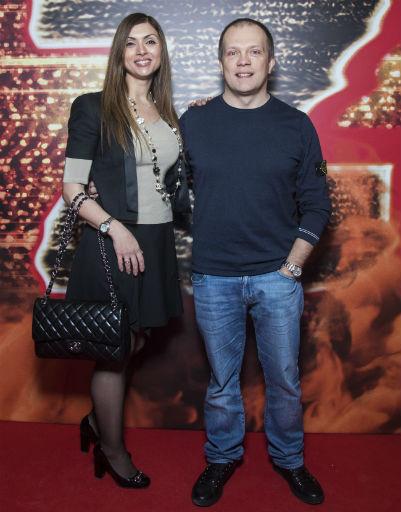 DJ Грув с супругой
