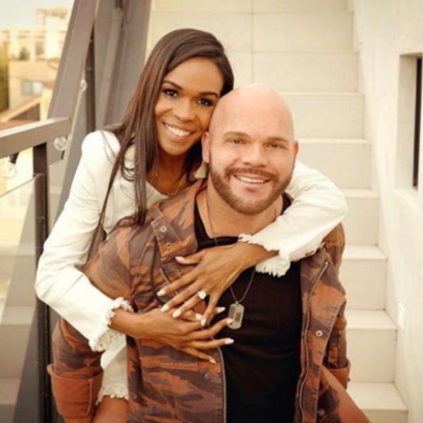 Мишель с женихом Чадом