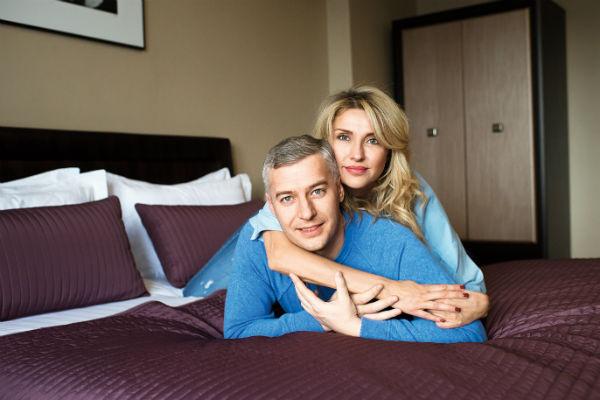Екатерина Архарова с будущим мужем