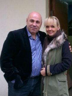 Валерия с супругом Иосифом Пригожиным