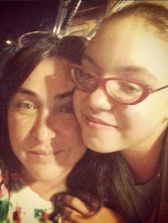 Лолита с дочкой Евой