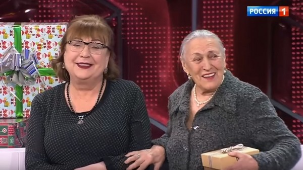Татьяна Кравченко с матерью Эмилией Карлаш