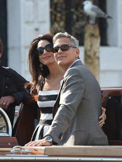 Амаль и Джордж в Венеции