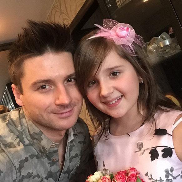 Сергей Лазарев с племянницей Алиной