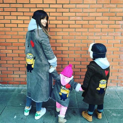Столичная модница показала подросших детей