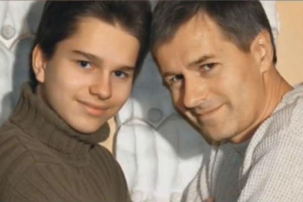 Игорь Ливанов с любимым сыном Андреем