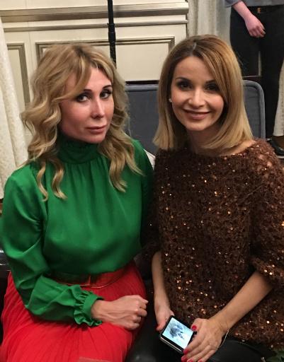 Анна Макарова и Ольга Орлова