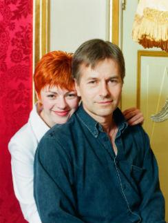 Игорь Ливанов с супругой