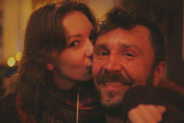 Сергей Шнуров с дочерью Серафимой