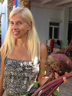 Алена Свиридова хвастается плодами своего труда