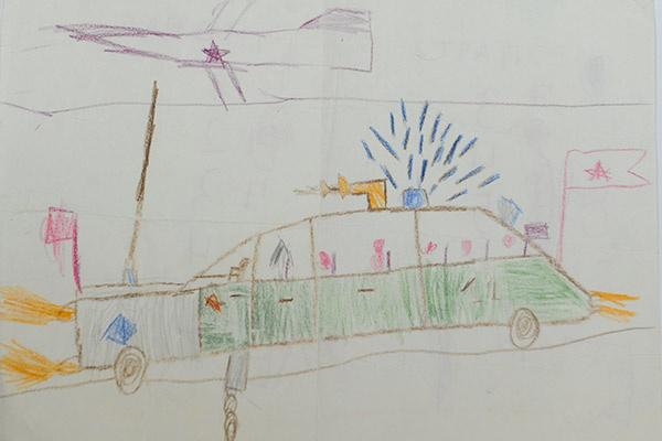 Детские рисунки Сергея Лазарева