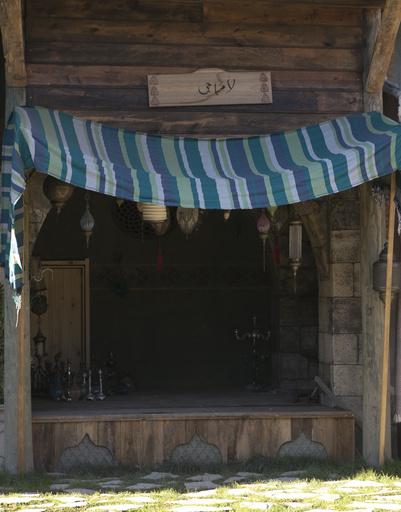 Базар полностью повторяет тот, который существовал во времена Османской империи