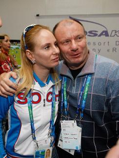Владимир Потанин с дочерью Анастасией. 2010 год