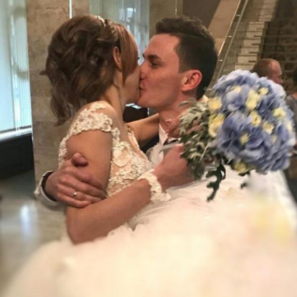 Диана с мужем Андреем