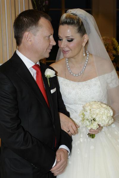 Мария и Денис поженились в марте этого года