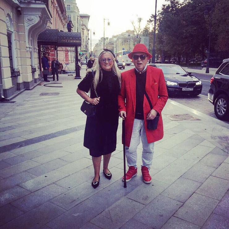 Татьяна Михалкова и Вячеслав Зайцев