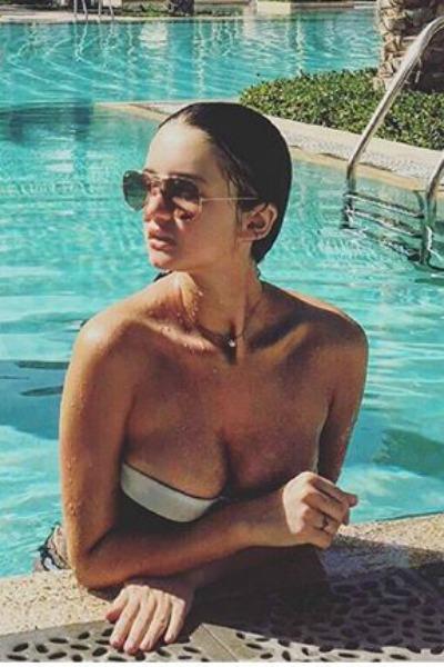 16-летняя Александра поразила подписчиков фото в бикини