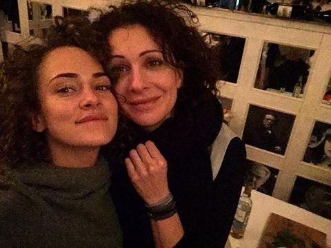Аглая Тарасова и Ксения Раппопорт