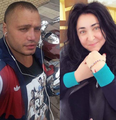 Рустам Солнцев и Лолита Милявская