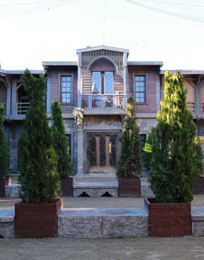 Двор деревни