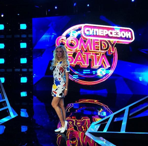 Ольга Бузова на сцене «Comedy Баттл»
