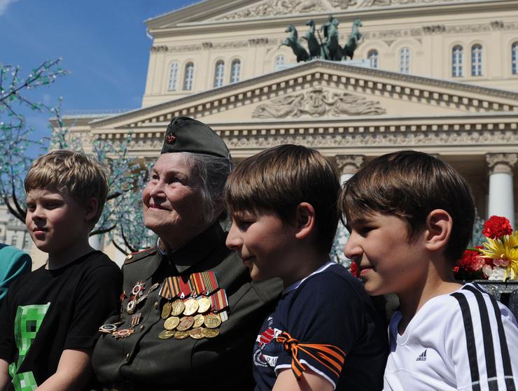 День Победы объединяет поколения