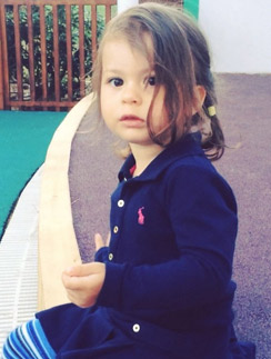 Анджелина-Летиция - дочь Виктории Бони