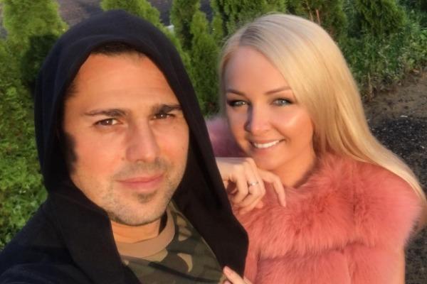 Дарья Пынзарь с мужем