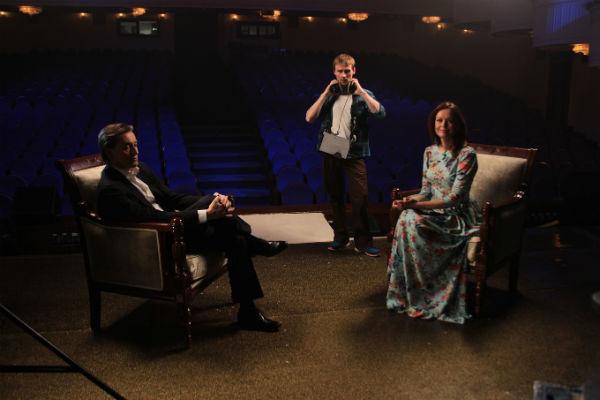 Сергей и Ирина Безрукова беседовали в эфире около двух часов