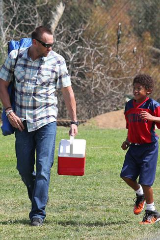 Видно, что у Мартина замечательные отношения с детьми