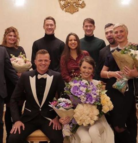 Дмитрий Тарасов и Анастасия Костенко стали мужем и женой