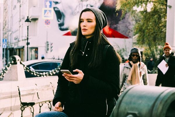 Паулина Андреева на съемках проекта «Любовницы»